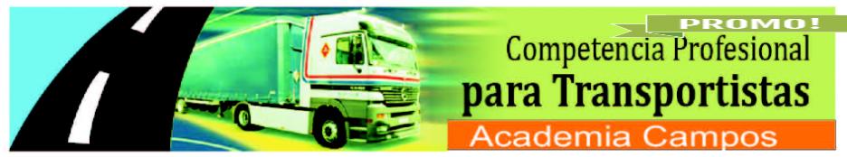 obtención titulo de transportista academia camposcursos \u003e transporte y logistica
